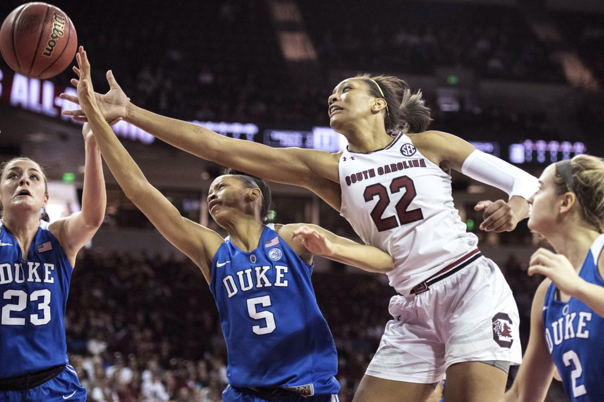 Duke South Carolina Basketball