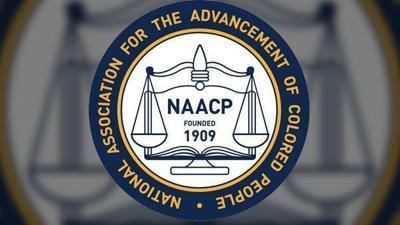 NAACP logo LIBRARY