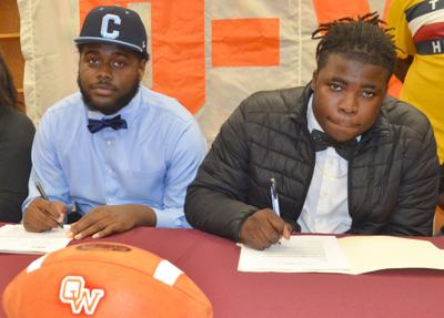 O-W players sign football scholarships