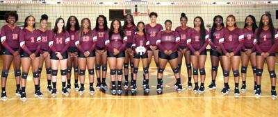 Claflin 2019 volleyball team