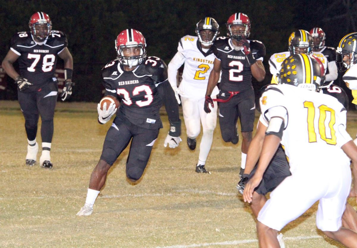 Wilkins runs for B-E in playoff win