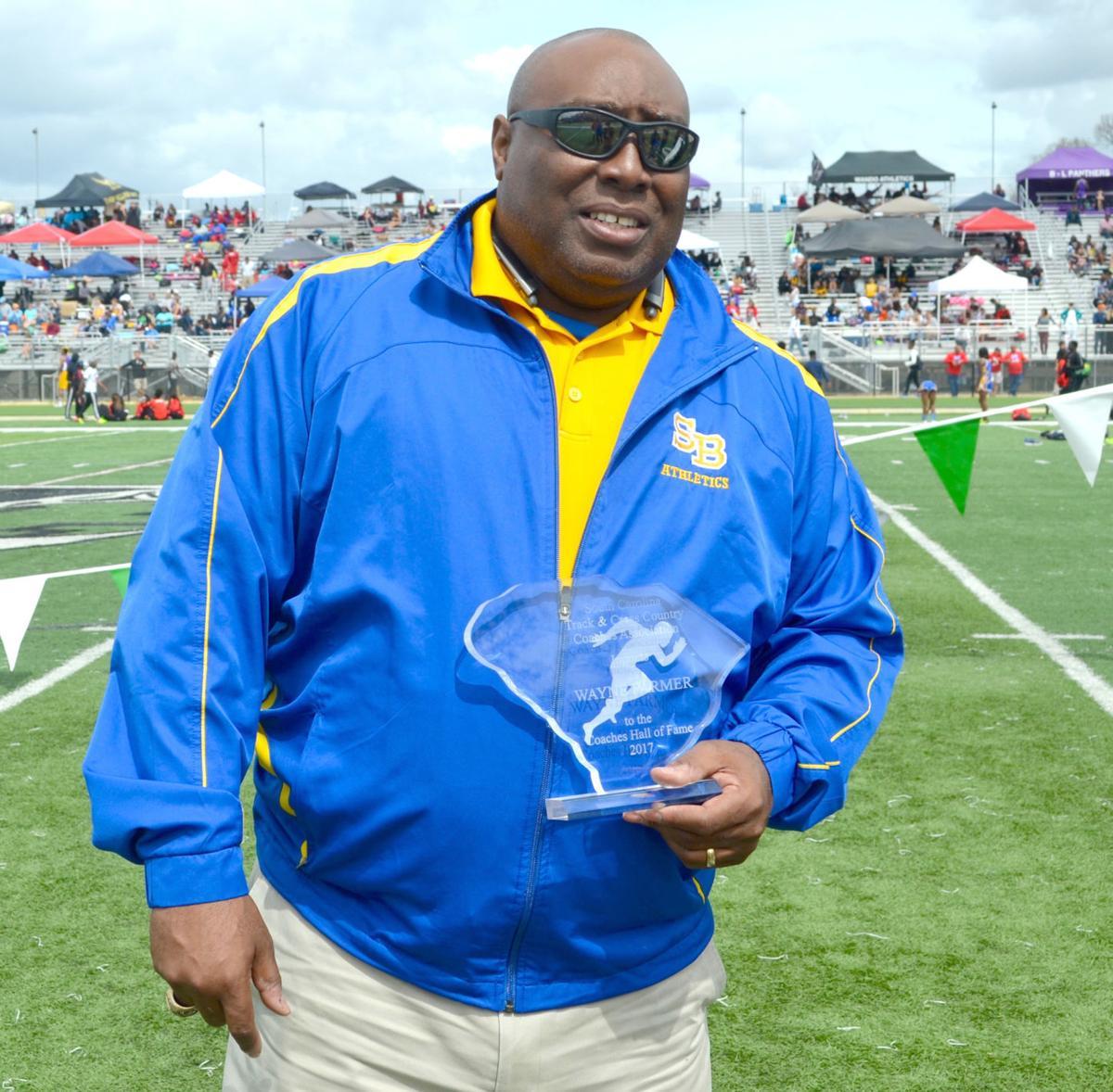 Wayne Farmer track coach