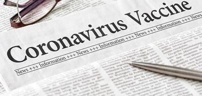 Coronavirus vaccine, illustration