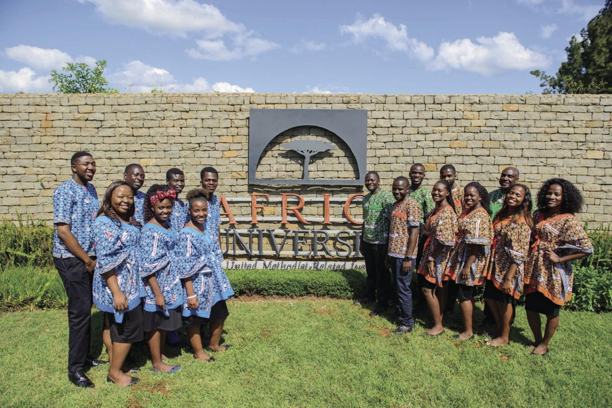 The Africa University Choir from Zimbabwe