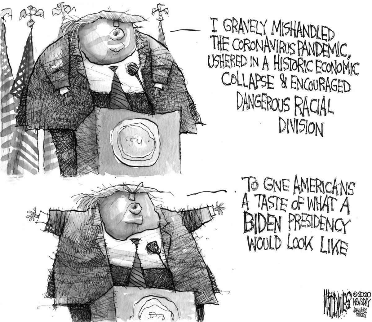 I lied to blame it on Biden