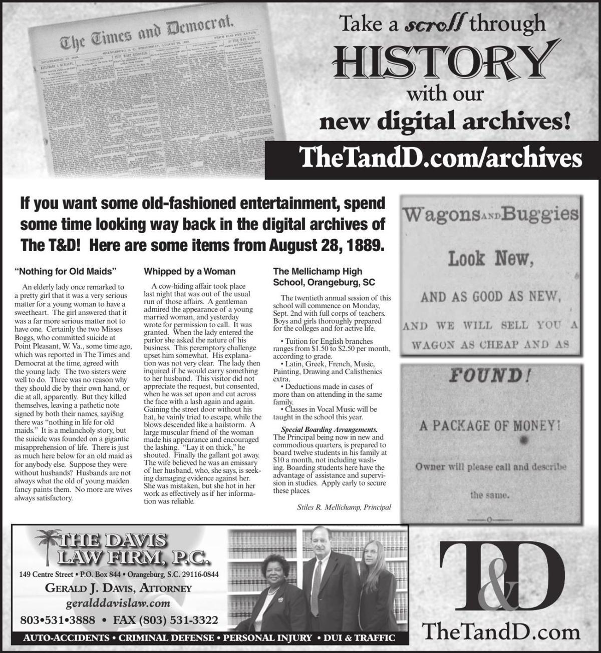 TheTandD.com/archives Aug. 25, 2019