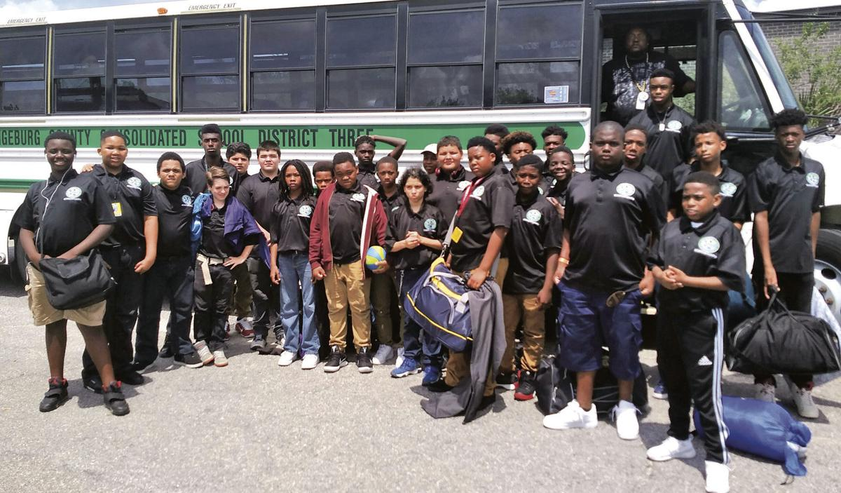 HHR Middle School students overnight at Patriots Point