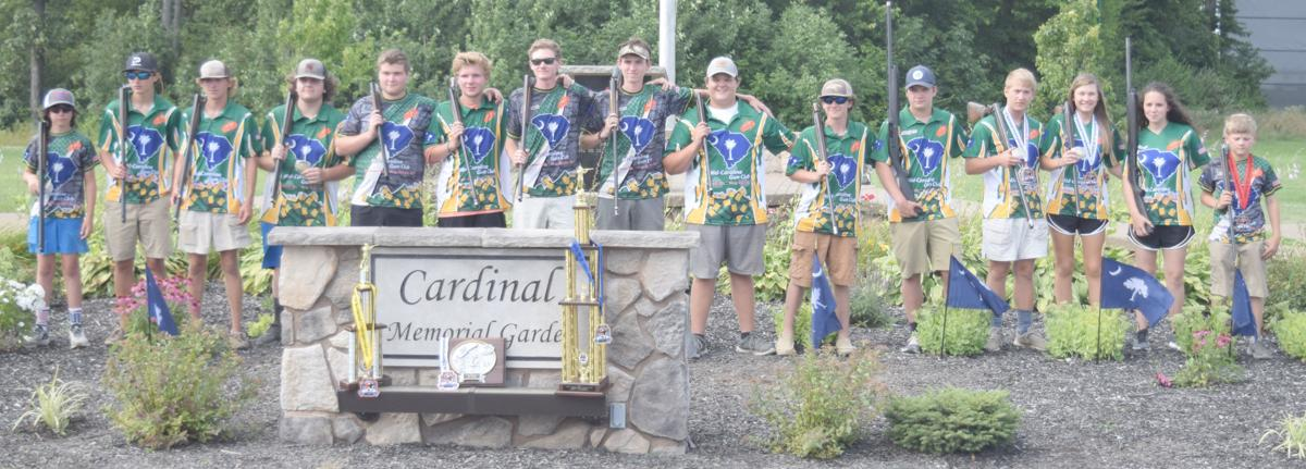 Mid-Carolina 4-H Youth Shooting Team at nationals