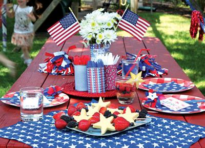 Cheap Easy Fun Fourth Of July Crafts And Table