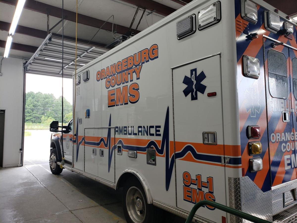 Orangeburg County EMS ambulance