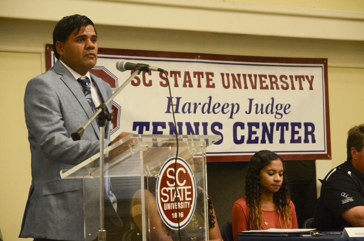 Hardeep Judge Tennis Center Dedication