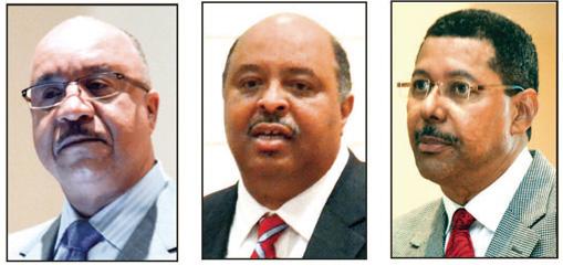 S.C. State presidental candidates