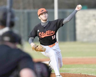 Claflin's Parker pitches in win