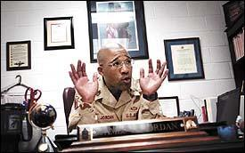 Older brother of Michael Jordan his own man in the U.S. Army