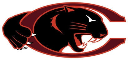 LIBRARY Claflin Panther logo