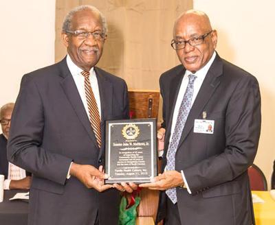 Sen. Matthews honored