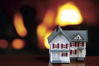 Home Fire Illustration