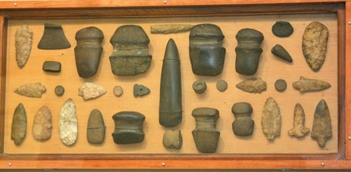Foots' finds: Native American artifacts collected over a ...