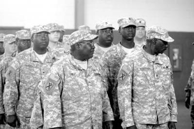 218th Infantry Brigade honored as Community of Character recipients