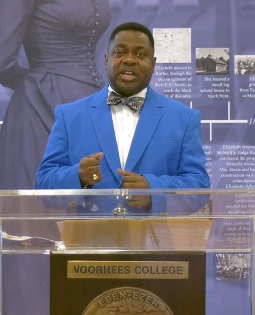 Voorhees College President Dr. W. Franklin Evans