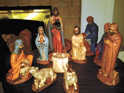 bible character figurines the who, the what, the why of nativity scenes | news