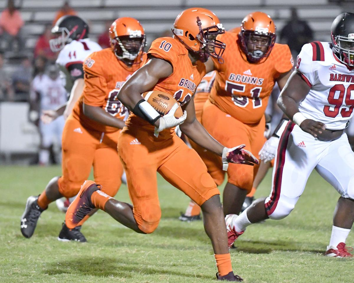 O-W football runs against Barnwell