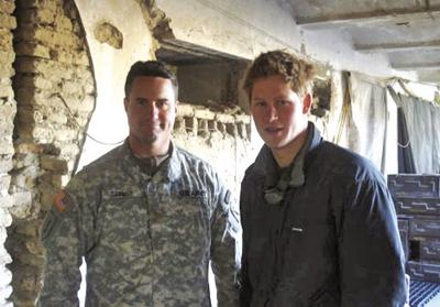 Col. Bill Connor and Prince Harry