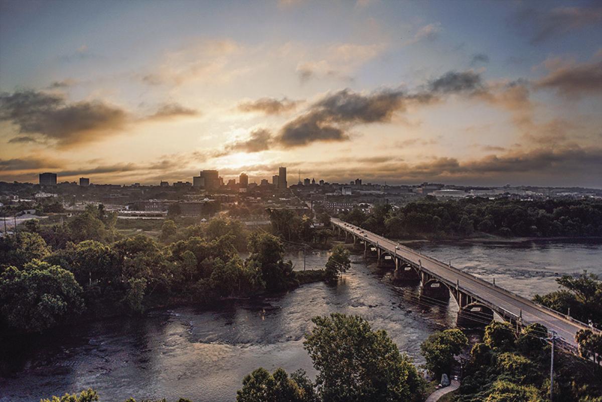 Columbia sunrise