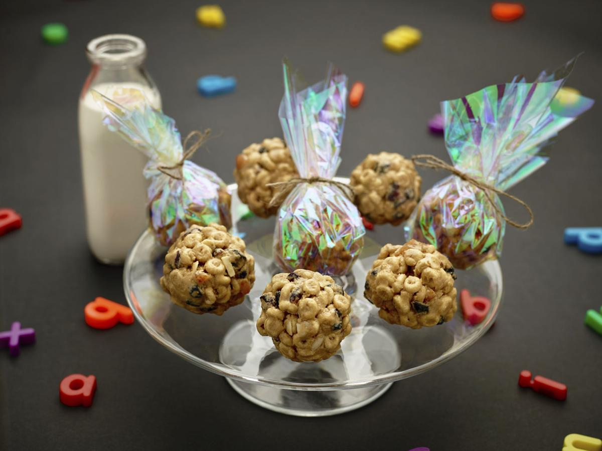 Food Culinary Institute of America Cereal Balls