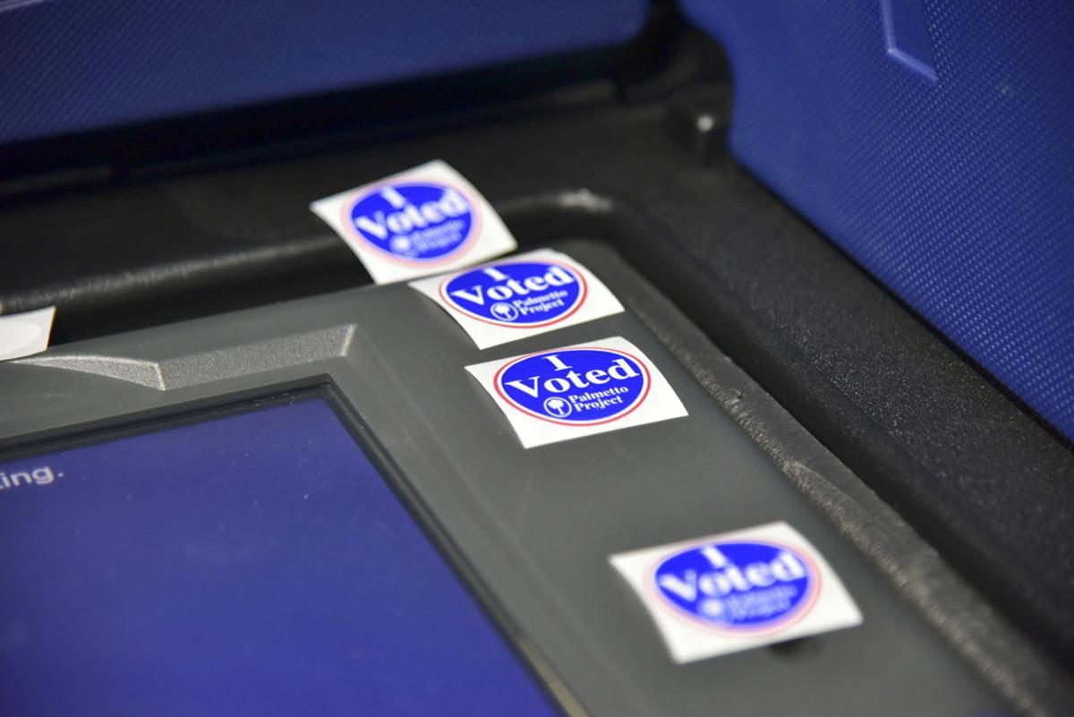 Orangeburg County voting machine