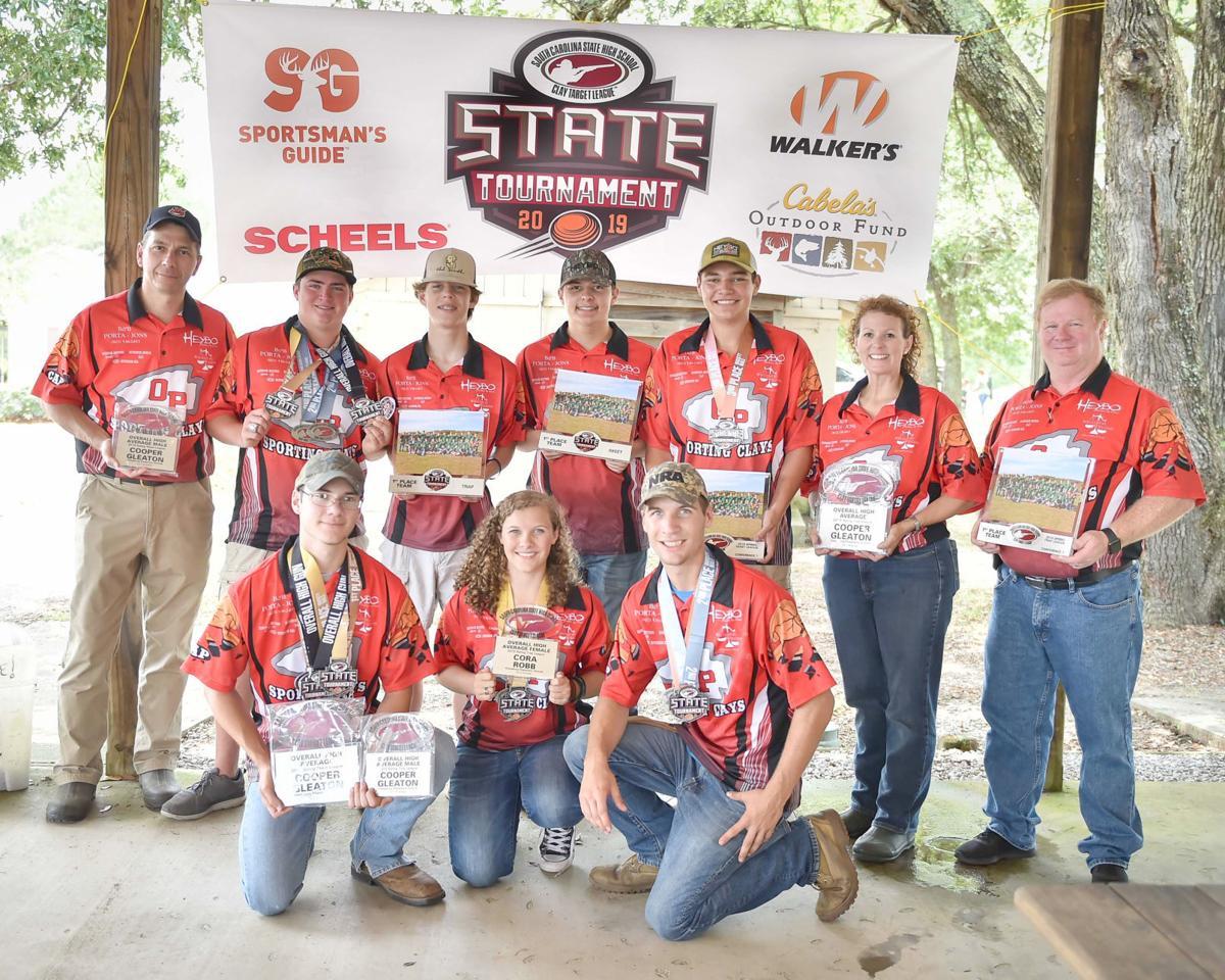 Orangeburg Prep state championship shooting sports team