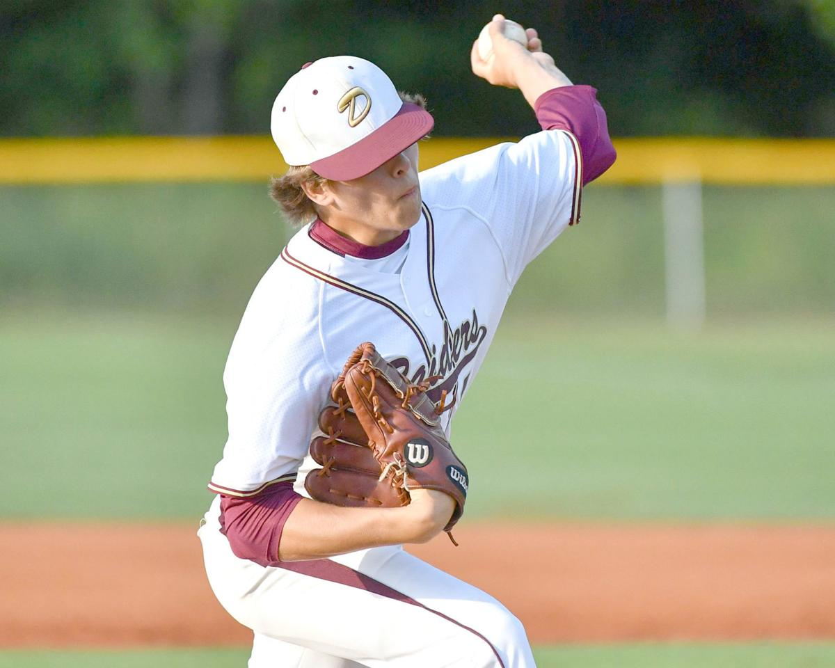 Way pitches for DA in state title series game one