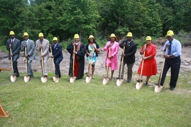 Mount Zion Family Life Center ground breaking