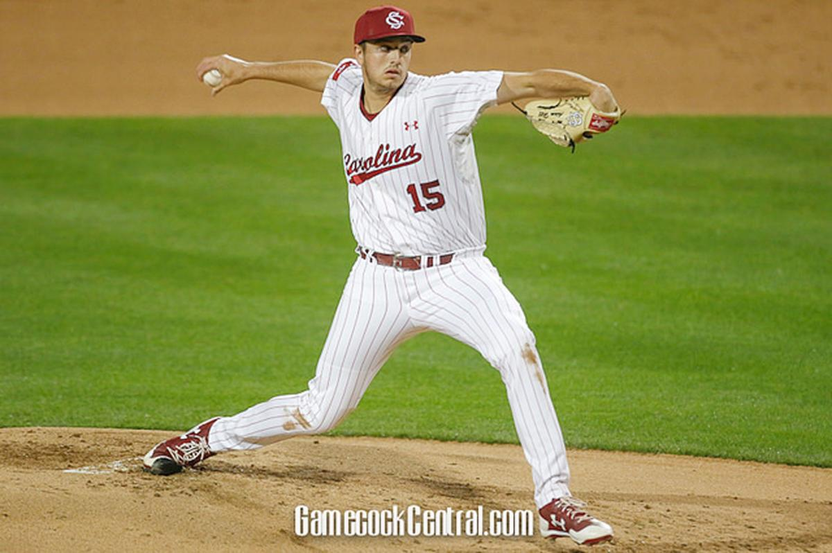 Hill pitches for South Carolina