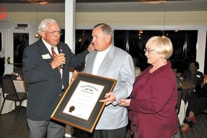 Frank Tourville Order of the Palmetto