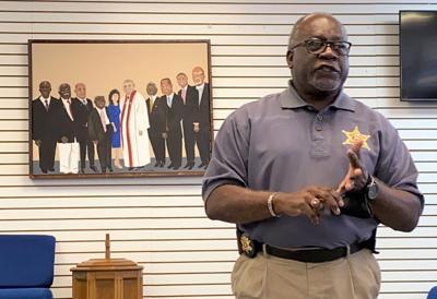 Orangeburg County Sheriff Leroy Ravenel