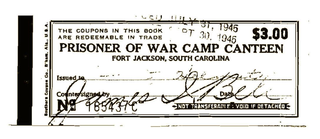 Vintage Orangeburg POWs script