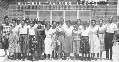 Elloree Training School teachers