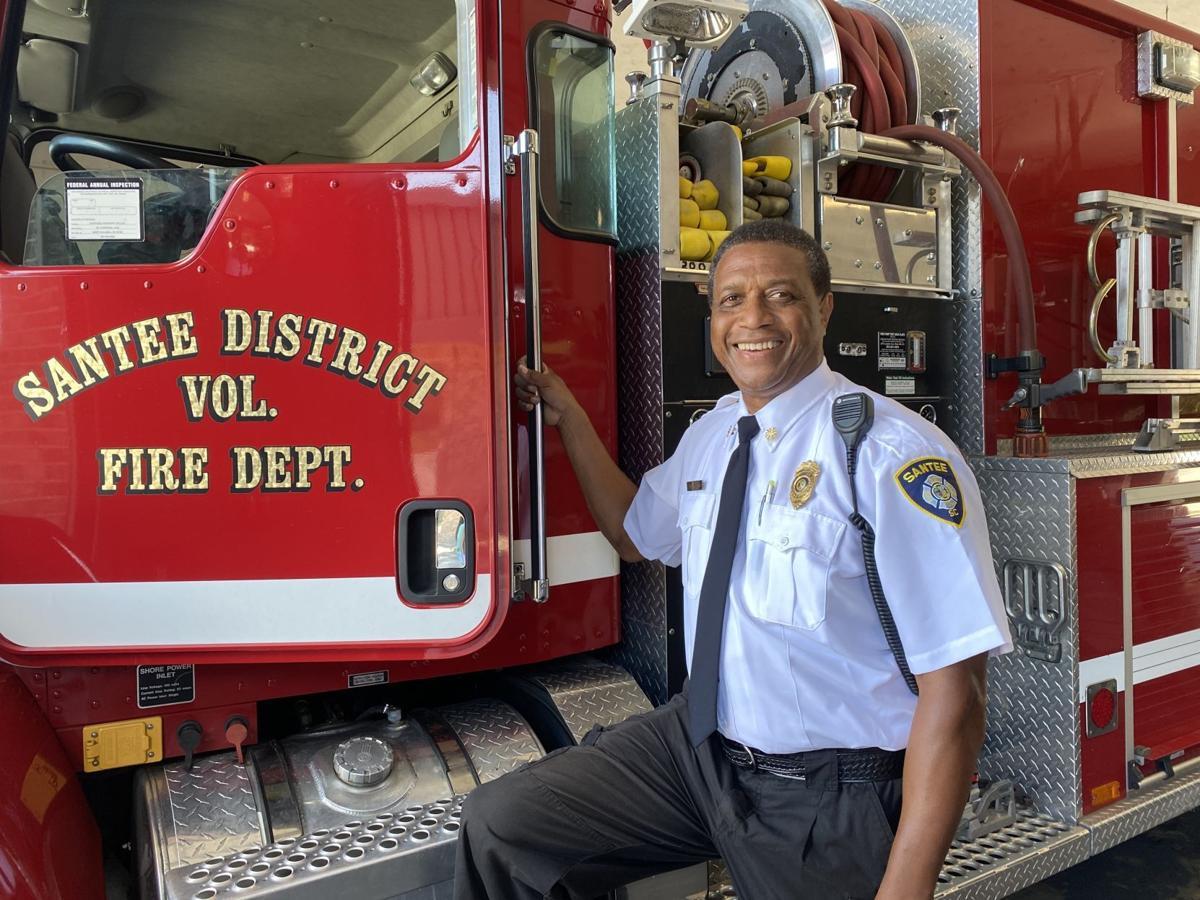 Santee Fire Chief Ed Barnett