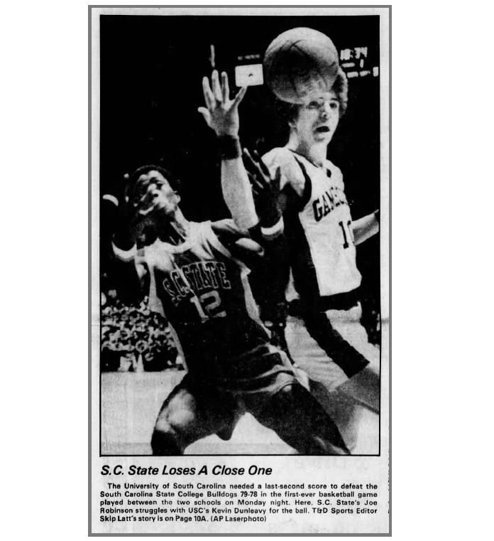 South Carolina State vs. Gamecocks, December 1979