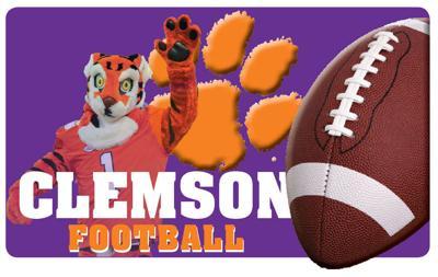 SPORTS LIBRARY, Clemson, football (copy) PRINT