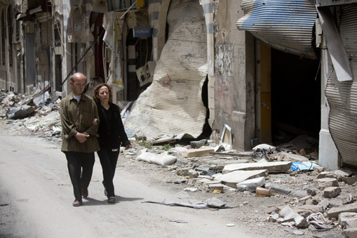 Mideast Syria Surviving the Blockade