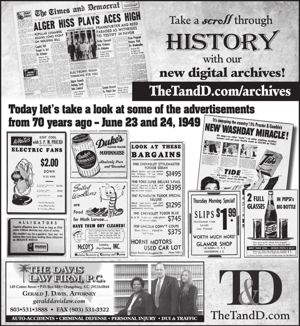 TheTandD.com/archives June 23, 2019