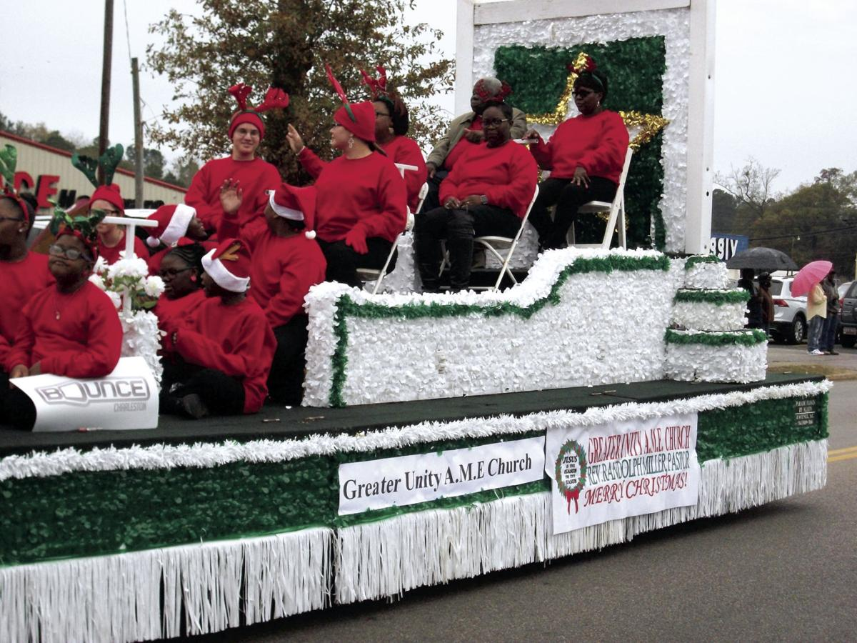 Greater Unity AME Church float
