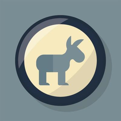 WED democrat logo LIBRARY