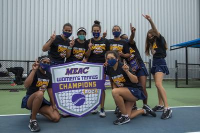 MEAC tennis champions 2021