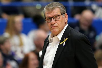 UConn defeated visiting Butler, 103-35, on Tuesday, Jan. 19, 2021, with Auriemma recording his 1,099th career victory, breaking a second-place tie with Pat Summit behind Stanford's Tara VanDerveer's 1,105 record mark.