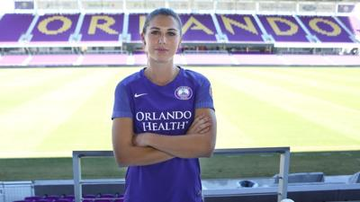 Orlando Pride star Alex Morgan.
