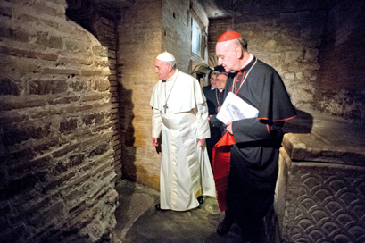 Image result for peter tomb vatican