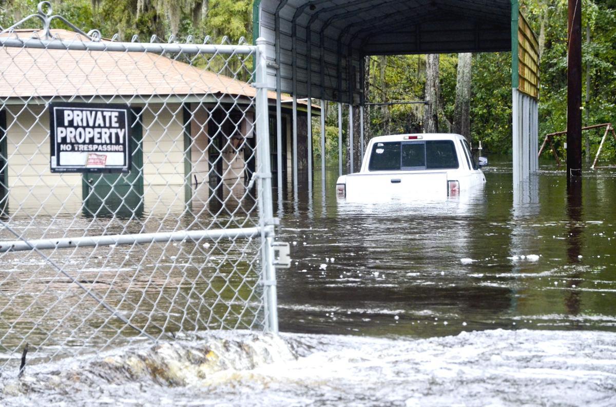 Flooding in Orangeburg